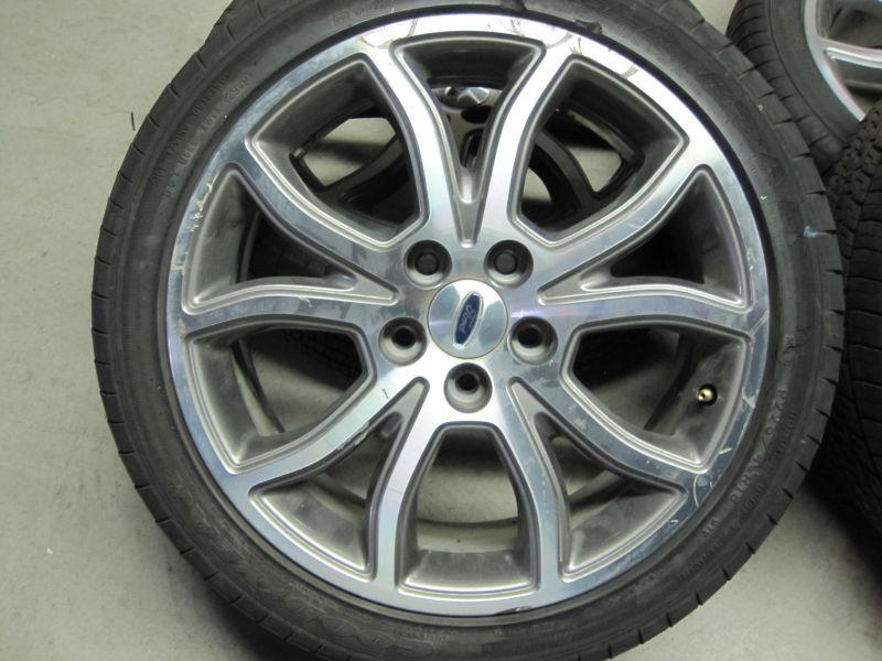 ford fusion sport 18 wheels tires. Black Bedroom Furniture Sets. Home Design Ideas