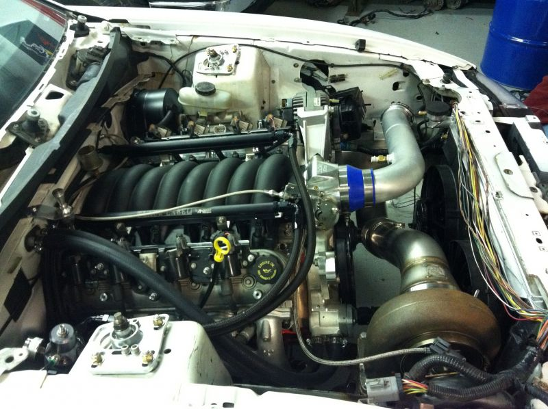 Turbo Lsx In A 2000 Saleen S281 Mustang Build Page 4